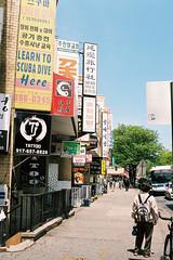 000030 () Tags: newyork film 35mm pentax takumar f2 smc flushing portra160  esii