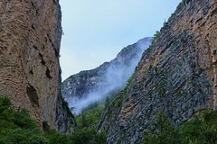 The Fog II (Quasqua) Tags: mountain france fog alpes valley