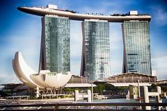 Marina Bay Sands (Kunal Baweja) Tags: travel art tourism canon daylight singapore tour tourist nik hdr marinabay 2016 singaporeart marinabaysands nikcollection singapore2016