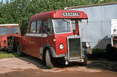 Central SMT Breakdown Tender BVD942 at Doune Motors. Jun'83. (David Christie 14) Tags: doune centralsmt breakdowntender