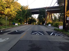 New traffic calming to improve safety for all modes along Boyer Avenue (Seattle Department of Transportation) Tags: seattle speed traffic calming transportation bumps humps sdot donghochang