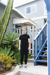 (brattyvegan) Tags: california portrait urban color beach fashion architecture la losangeles pastel colorphotography minimal manhattanbeach urbanlandscape landsape