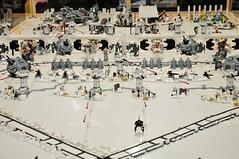 LEGO Echo Base defenses (J-Fish) Tags: starwars lego nevada xwing reno hoth turbolaser millenniumfalcon snowspeeder echobase ioncannon d300s 1685mmf3556gvr 1685mmvr renobricks