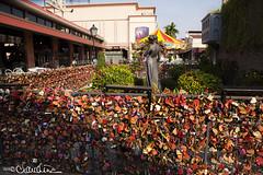 (by claudine) Tags: architecture thailand market bangkok culture courtyard nightmarket thai locks customs asiatique lovelocks travelphotographyworldphotosuniquebyclaudine