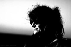 Portrait (Natali Antonovich) Tags: portrait monochrome sunglasses seaside mood blankenberge stare seashore seasideresort belgiancoast seaboard
