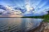 Summer Sunburst (Kansas Poetry (Patrick)) Tags: summer sky cloud lawrence kansas sunburst lawrencekansas lawrenceks clintonlake patrickemerson patricklovesnancy