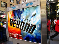 Star Trek Beyond Poster Billboard Phone Booth AD 1909 (Brechtbug) Tags: show street new york city nyc fiction film television st trek booth movie poster star tv jj theater phone mr theatre manhattan district space rip ad broadway science billboard midtown sidewalk ave captain spock scifi series beyond anton 1960s avenue abrams 7th futuristic kirk 32nd 2016 standee standees yelchin 06292016