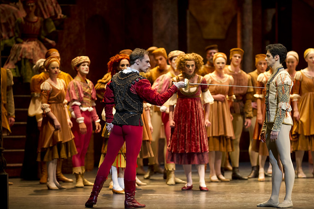 Artists of The Royal Ballet in Romeo and Juliet © Bill Cooper/ROH 2012