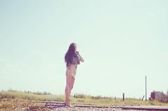 Irene (Geek About To Explode) Tags: morning sky sexy nature girl fashion nikon desert outdoor story d7000 alezayas