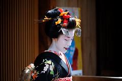 (Tamayura) Tags: japan mar nikon kyoto maiko gion kansai d3 debut 2012 gionkobu misedashi 70200mmf28gvrii 201203191257091