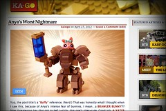 www.Ka-GO.net: Anya's Worst Nightmare (ka.lego) Tags: anime cute bunny animal blog lego fantasy scifi sciencefiction mecha moc kago