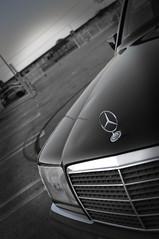 THE LEGEND... (Micho Photographer) Tags: black speed garden mercedes miami parking lot syria hood 1994 drift donate w124 e320 فرخ الشبح ميامي تشفيط مارسيدس دريفت