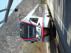 March 2012 (sarahamina) Tags: train germany tren bayern deutschland bavaria flirt eisenbahn zug land alemania bahn allemagne treno germania blb duitsland berchtesgadener sarahamina tskland berchtesgadenerlandbahn