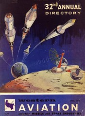 Western Aviation (Wires In The Walls) Tags: moon industry illustration vintage earth satellite astronauts cover scanned rocket missile catalog 1960s outerspace lunar spherical 1960 retrofuture spaceflight spaceprogram westcoat westernaviation