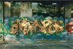 asalt wall san francisco (yonderalonso) Tags: wall graffiti san francisco te ask kas asalt