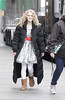 AnnaSophia Robb on the set of 'The Carrie Diaries' in Manhattan New York City, USA