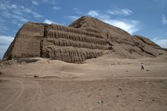 La bellissima Huaca del Sol (recondoontheroad) Tags: sol libertad la y luna per provincia trujillo citt moche huacas