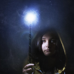 Lumos II (ChelseyLeBlanc) Tags: light self dark wand magic harrypotter spell spells lumos