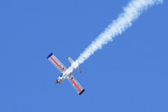 "Joe ""Rifle"" Shetterley performing aerobatics in the Raytheon RV-8 (Norman Graf) Tags: arizona plane airplane tucson aircraft aviation rifle airshow raytheon aerobatics rv8 davismonthanafb thunderandlightningoverarizona joerifleshetterley"