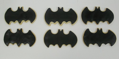 [Image from Flickr]:Bat cookies