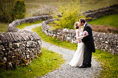 Wedding Photography from the Punch Bowl in Crosthwaite (Pete Barnes Photography) Tags: wedding love happy photography pub inn couple photographer country lakes lakedistrict cumbria fields paths relaxed punchbowl informal weddingphotographer weddingphotography crosthwaite