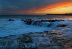 High tide - 4 mile beach (Yan L Photography) Tags: california longexposure sunset sky seascape beach northerncalifornia landscape coast nikon highway1 fourmile 1424mm