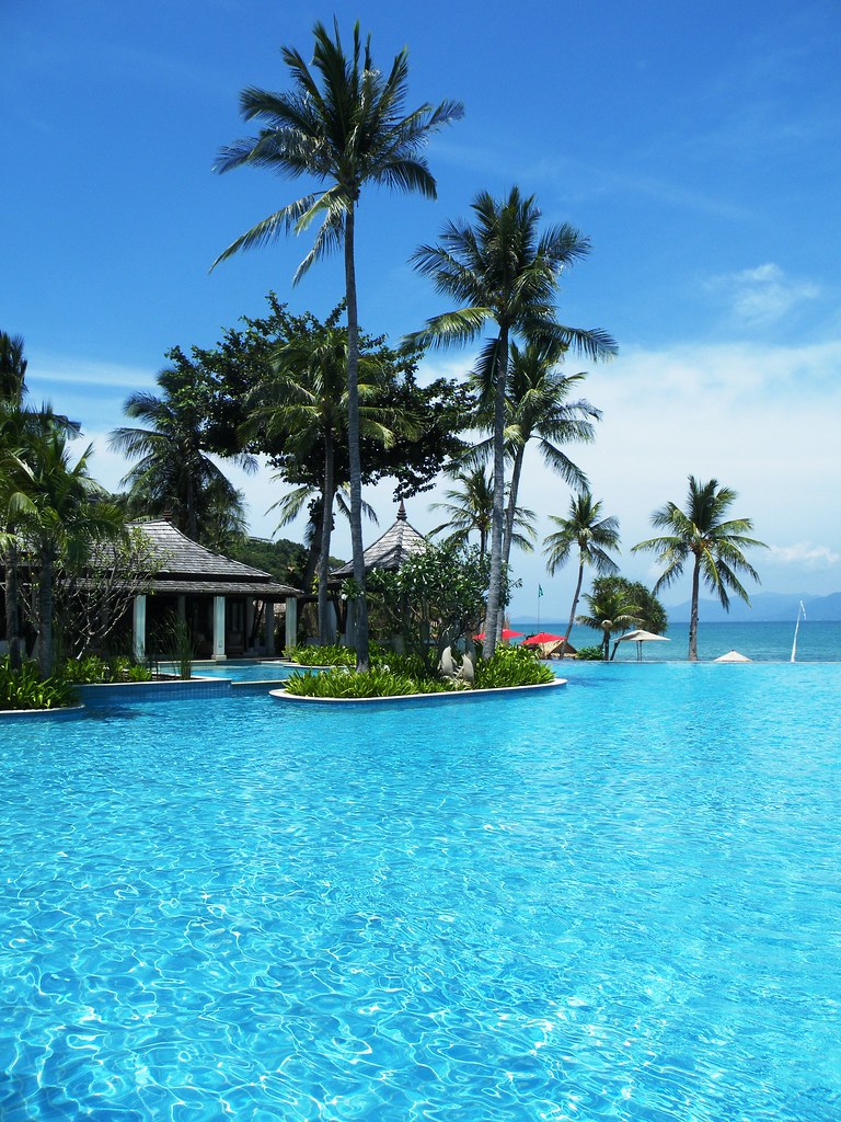 Pool at Melati, Thongson Bay, Ko Samui, Thailand