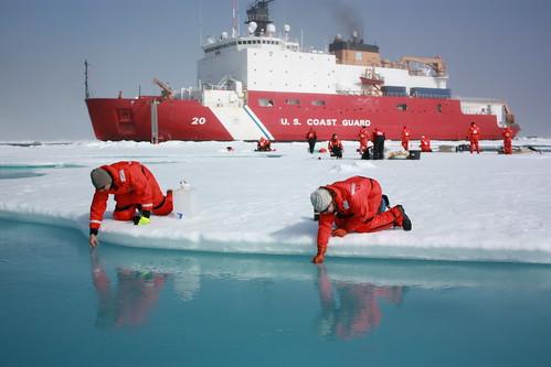 ice weather nasa arctic bloom climate goddard arcticocean icescape