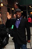 Booker T. Jones Celebrities arrive at The Ed Sullivan Theater for 'The Late Show with David Letterman' New York City, USA