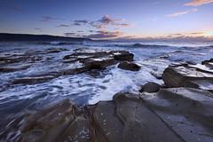 Awake (Gemma Stiles) Tags: ocean sea seascape beach nature water clouds canon landscape coast rocks shoreline australia shore newsouthwales canonefs1022mmf3545usm australiancoast cokinfilters australiancoastline seascapephotography bellambibeach pseriesfilters canoneoskissx4