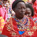 Maasai Farmer Speaks to Helen Clark During Visit to Kenya