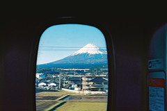 Fujiyama (a l e x . k) Tags: film japan kyoto fuji pentax mount shinkansen fujiyama lx fa43mmf19