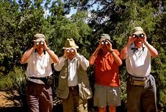 JKN©-CV-0102 (John Nakata) Tags: binoculars birdwatchers campinghatshobbyhumormen mojavedesert mojavenationalpreserve published