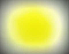 """Sun Spot 1""  DSC01320 (kluehirschSnowpine) Tags: abstract color yellow circle explore"