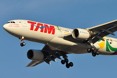 TAM Airlines (TAM Linhas Aereas) - Airbus A330-200 - PT-MVP - Selecao Brasileira (World Cup 2010) - John F. Kennedy International Airport (JFK) - February 19, 2012 2 513 RT CRP (TVL1970) Tags: nikon nikond90 d90 nikongp1 gp1 geotagged nikkor70300mmvr 70300mmvr aviation airplane aircraft airlines airliners johnfkennedyinternationalairport kennedyairport jfkairport jfkinternational jfk kjfk ptmvp tamtransportesaéreosmarília tamlinhasaéreas tamairlines tam seleçãobrasileira selecaobrasileira worldcup2010 speciallivery oeicz aercapholdings aercap tcjis turkishairlines thy türkhavayollarıanonimortaklığı türkhavayolları turkhavayollarıanonimortaklıgı turkhavayolları airbus airbusindustrie airbusa330 airbusa330200 a330200 airbusa330223 a330223 a330 prattwhitney pw pw4000 pw4168 pw4168a