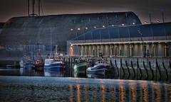 Lorient Port de pche (bruno.astorg) Tags: mer france canon europe mark iii bretagne soir crpuscule morbihan hdr lumires lorient eos1ds pche greatphotographers 1dsmk3 portdepche brunoastorg