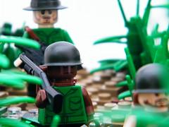 BA 'Nam Scene Contest: 'Ambush' (7) (DarthNick) Tags: forest river war lego contest scene vietnam jungle swamp nam ambush brickarms