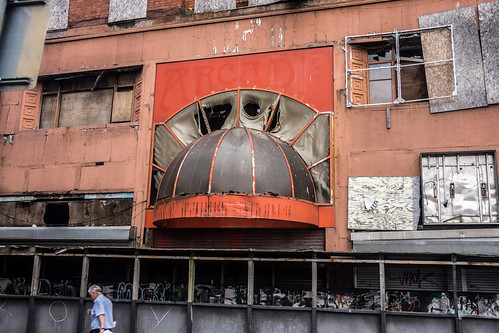 This Is Really Sad - North Street Arcade, Cathedral Quarter (Destroyed By Fire)