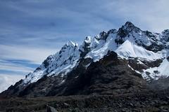 Peru - Salkantay Trek 069 - glacier-cover mountains (mckaysavage) Tags: mountains peru geotagged cusco ridge glaciers peaks nevado salkantay humantay