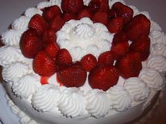 τούρτα φράουλα