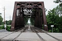 (wickedmartini) Tags: bridge ny train river rust track rusty rochester