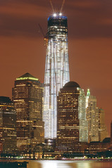 World Trade Center 1 on June 9, 2012 (mudpig) Tags: nyc newyorkcity longexposure ny newyork reflection skyline night river geotagged golden newjersey jerseycity cityscape worldtradecenter nj financialdistrict hudsonriver gothamist hdr worldtrade freedomtower mudpig stevekelley stevenkelley worldtrade1 worldtracecenterone