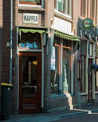 Do you want a haircut or a drink? (~ Marjolein ~) Tags: haircut netherlands heineken drink nederland friesland sneek kapper