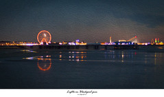 Lights on Blackpool pier. Oil (HSS) (Ianmoran1970) Tags: photoshop lights pier paint sunday effect blackpool sliders hss ianmoran sliderssunday ianmoran1970