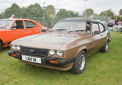 1980 Ford Capri 3.0 V6 Ghia Mk3 (Trigger's Retro Road Tests!) Tags: show classic ford car 30 capri retro vehicle 1980 essex ghia 2012 v6 lawford revival mk3 manningtree