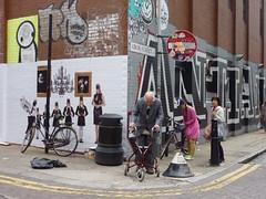 London-graffiti w/ people (ashabot) Tags: london eastend