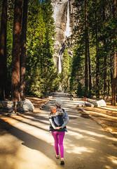wonder (D.P. Kuras) Tags: california park travel family love nature beauty landscape outdoors waterfall nationalpark lifestyle landmark falls yosemite halfdome