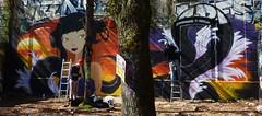 Graffiti La Rochelle, Le Gabut (thierry llansades) Tags: street streetart painting graffiti mural graf spray atlantic peinture urbanart painter 17 graff larochelle aerosol bombing graffti graffitis fresque atlantik poitou atlantique saintonge charentes aytré fresques lapallice aunis frenchgraff legabut graffitilarochelle
