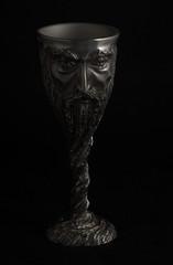 Gandalf Goblet (Chess Piece) (sr667) Tags: canon gandalf lordoftherings pewter goblet ef100mmf28macrousm gandalfgoblet