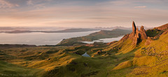 Wild Camping on the Ridge (Andrew Paul Watson) Tags: old camping light sunset wild man skye sunrise canon landscape scotland isleofskye panoramic vista fujifilm filters isle epic manfrotto trotternish storr xt1 visipix